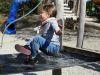 ...kann man abheben. (Schulhausspielplatz, 10. April)
