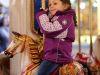 Karussell fahren auf dem Weihnachtsmarkt Brugg